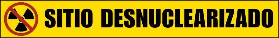 Logo sitio desnuclearizado